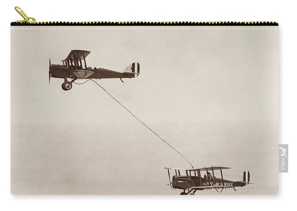 Biplanes Air Refueling - Army Air Service - 1923 Carry-all Pouch