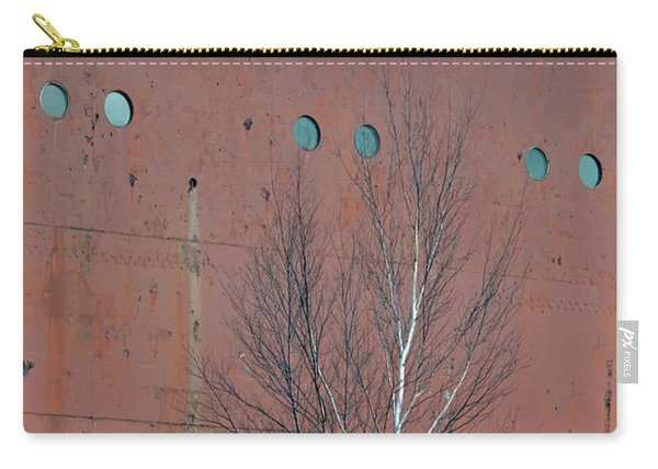 Birch And Ship Carry-all Pouch