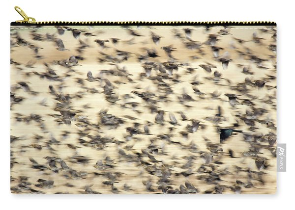Bird Blizzard Carry-all Pouch