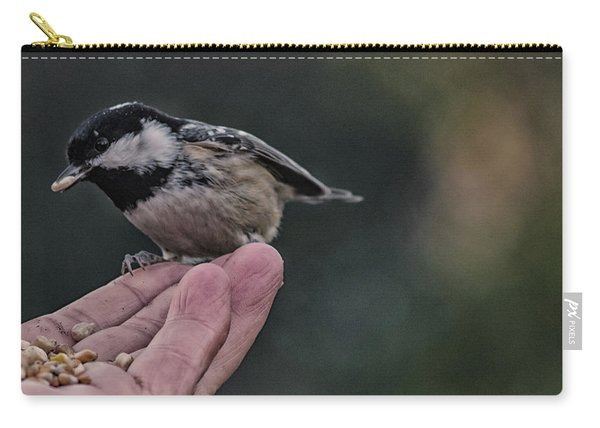Bird In The Hand  Carry-all Pouch