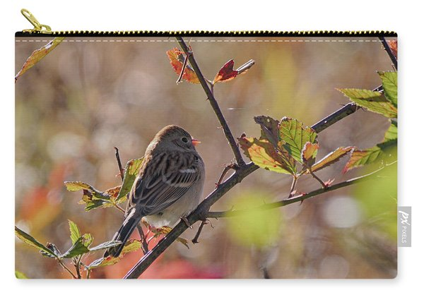 Bird In  Tree Carry-all Pouch