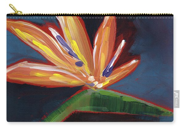 Bird Of Paradise- Art By Linda Woods Carry-all Pouch