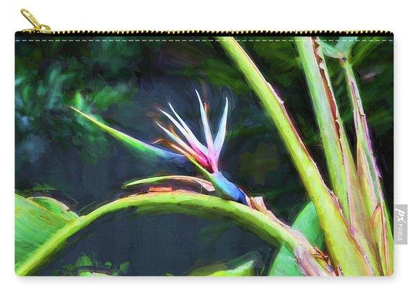 Bird Of Paradise Strelitzia Reginae 003 Carry-all Pouch