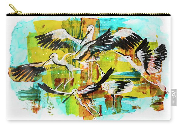 Bird Storks, Illustration  Carry-all Pouch