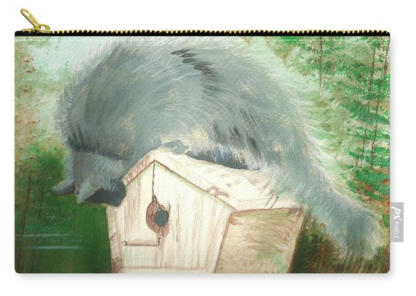 Birdie In The Hole Carry-all Pouch