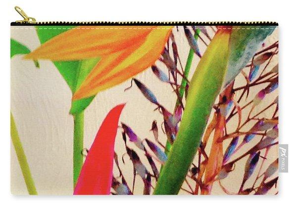 Birds Bromeliads Halyconia Carry-all Pouch