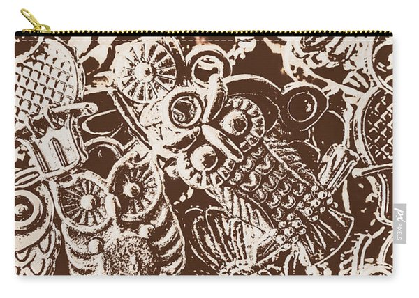 Birds From The Old World Carry-all Pouch