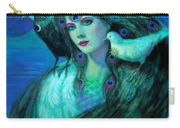 Birds Of Duality Fantasy Art Carry-all Pouch