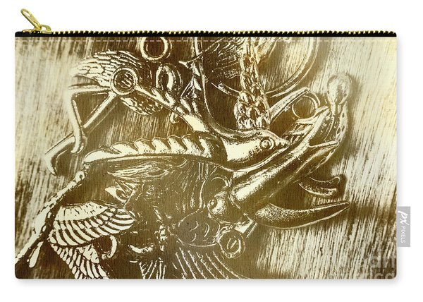 Birds Of Metal Carry-all Pouch