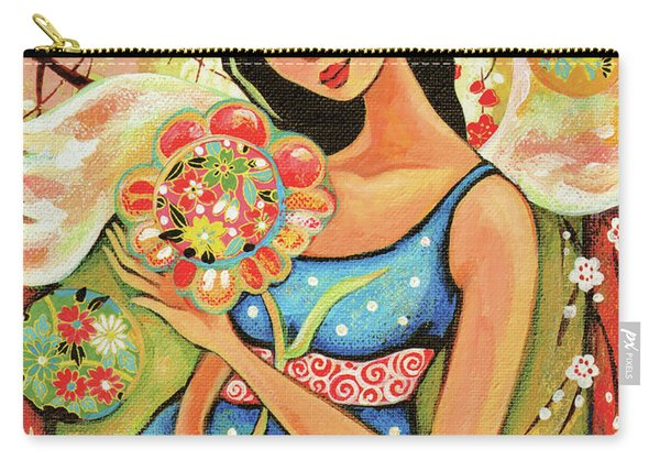 Birth Flower Carry-all Pouch