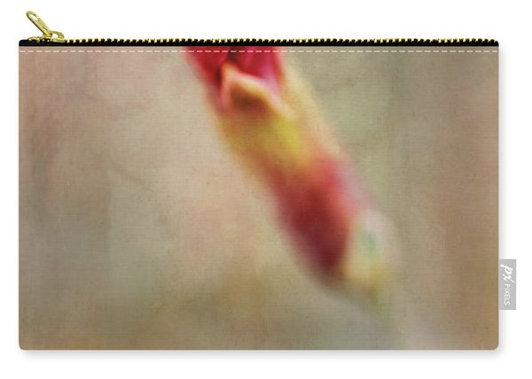 Birth Of A Red Bloom Carry-all Pouch