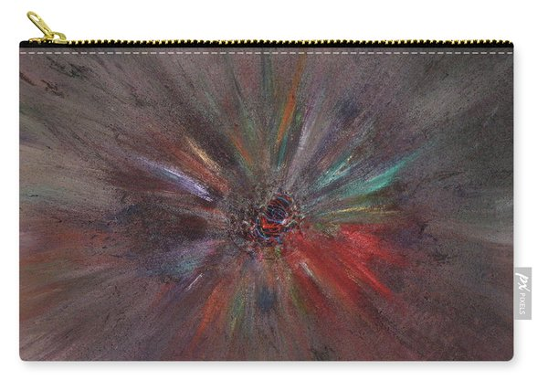 Carry-all Pouch featuring the painting Birth Of A Soul by Michael Lucarelli