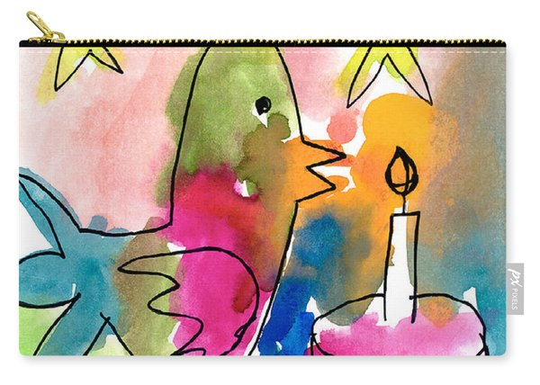 Birthday Bird Carry-all Pouch