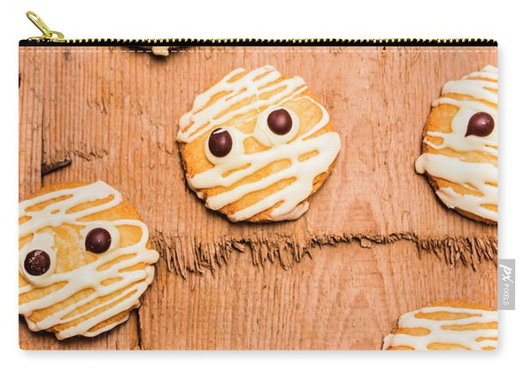 Biscuit Gathering Of Monster Mummies Carry-all Pouch