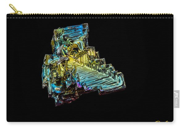 Bismuth Crystal Carry-all Pouch