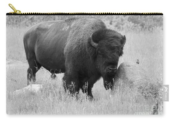 Bison And Buffalo Carry-all Pouch