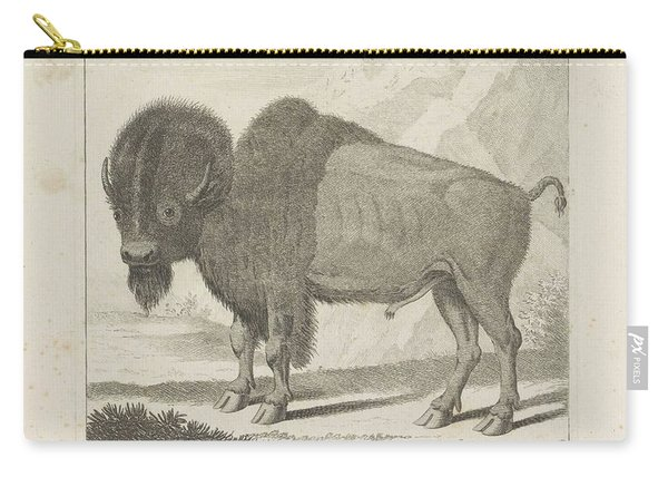 Bison, Anonymous, After Gerrit Van Den Heuvel, 1735 - 1859 Carry-all Pouch