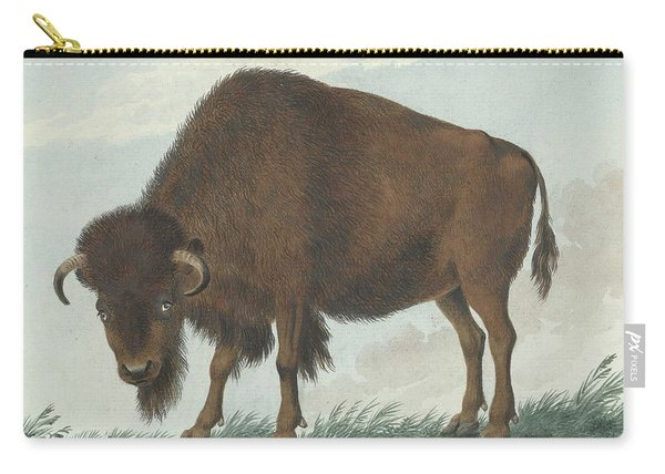 Bison, Isaac Van Haastert, 1808 Carry-all Pouch