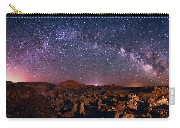 Bisti Badlands Night Sky - 2 Carry-all Pouch