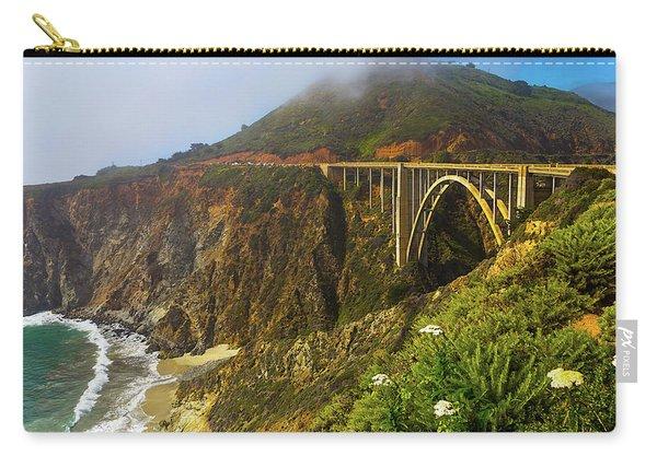 Bixby Bridge Big Sur Carry-all Pouch