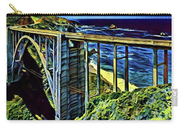Bixby Creek Bridge - Big Sur Carry-all Pouch