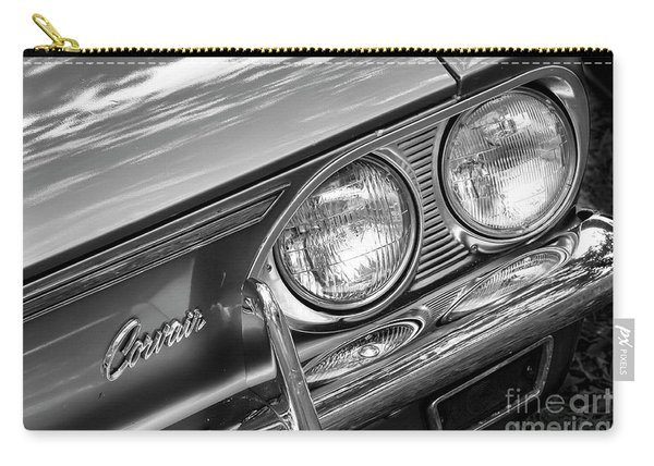 Black And White Corvair Carry-all Pouch