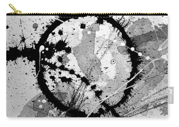Black And White Five Carry-all Pouch