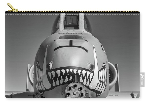 Black And White Hog - 2017 Christopher Buff, Www.aviationbuff.com Carry-all Pouch
