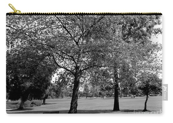 Black And White Nature Carry-all Pouch