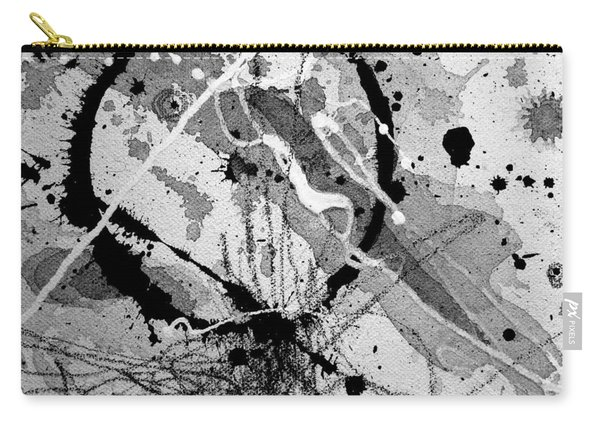 Black And White One Carry-all Pouch