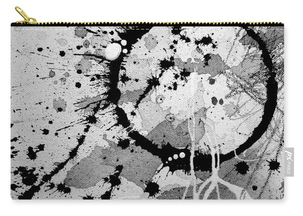 Black And White Two Carry-all Pouch