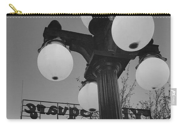 Black And White Ybor City Carry-all Pouch