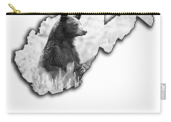 Black Bear Standing Carry-all Pouch