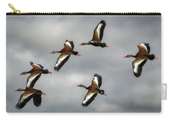 Black Bellied Whistling Ducks Carry-all Pouch