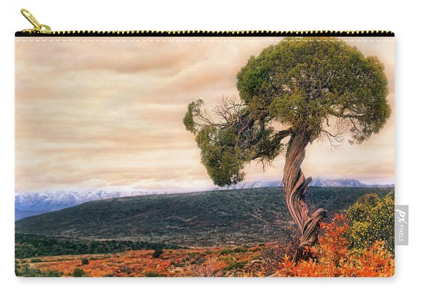 Black Canyon Juniper - Colorado - Autumn Carry-all Pouch