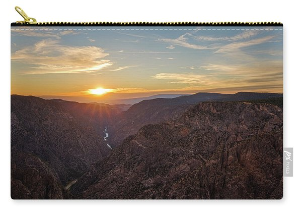 Black Canyon Sunburst Carry-all Pouch