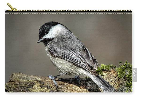 Black-capped Chichadee Carry-all Pouch