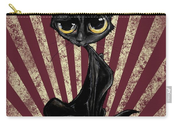 Black Cat Revolution Carry-all Pouch