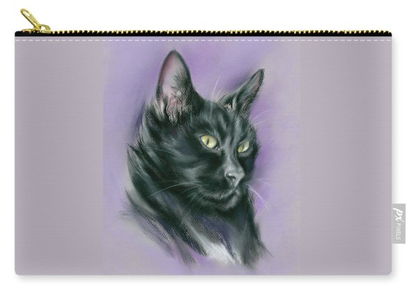 Black Cat Sith Carry-all Pouch