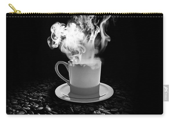 Black Coffee Carry-all Pouch