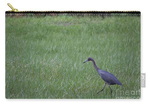 Black Egret Carry-all Pouch