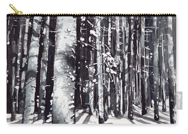 Black Forest Watercolor Carry-all Pouch