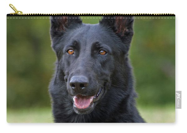 Black German Shepherd Dog Carry-all Pouch