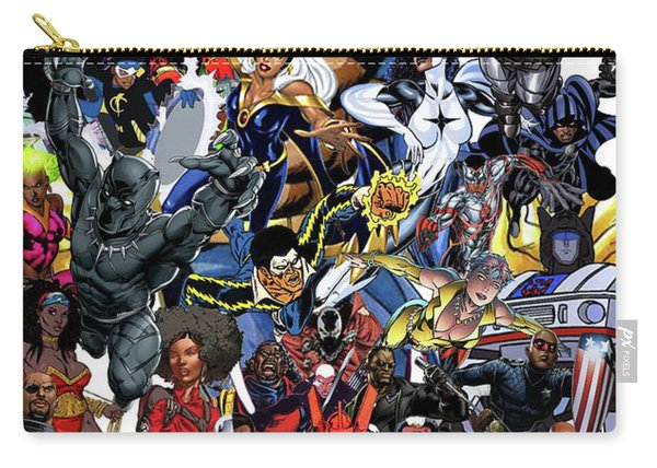 Black Heroes Matter Carry-all Pouch