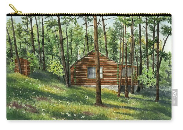 Black Hills Cabin Carry-all Pouch