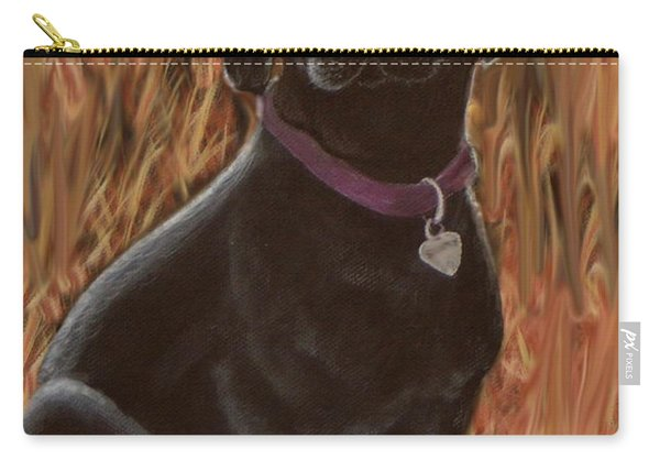 Black Lab Hunter Carry-all Pouch