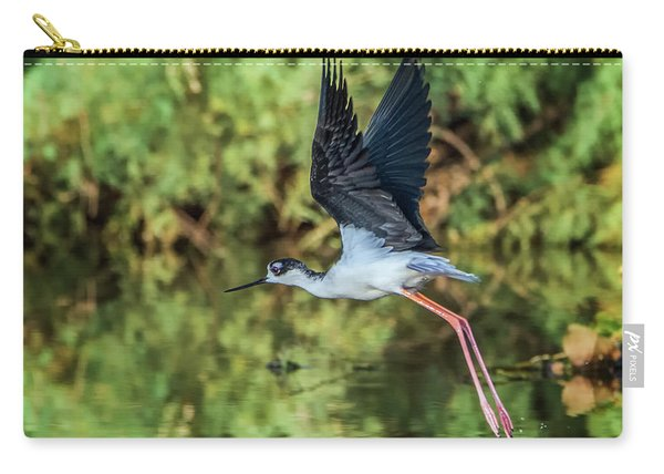 Black-necked Stilt 4687-091017-2cr Carry-all Pouch