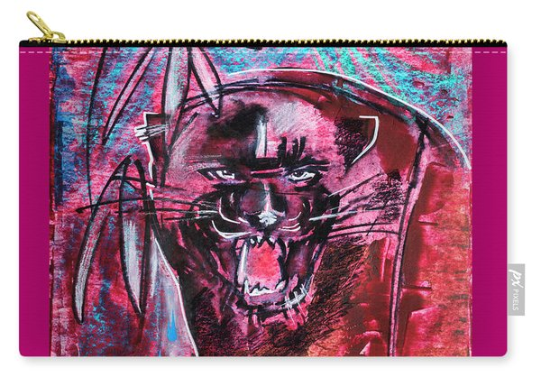 Black Panther,  Original Painting Carry-all Pouch