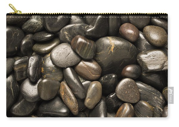Black River Stones Square Carry-all Pouch