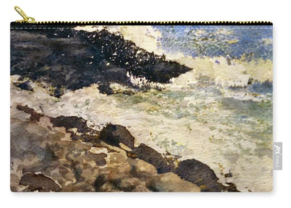 Black Rocks - Lake Superior Carry-all Pouch